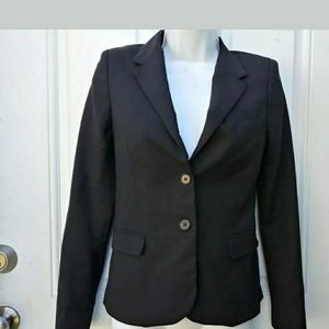 Babaton Blazer Jacket Button Front Pockets Classic